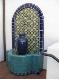 Talavera Wall Fountain   Fountain Design Ideas