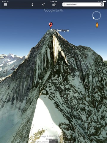 Download Google Earth for iPad