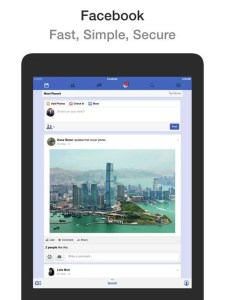Download Facebook for iPad