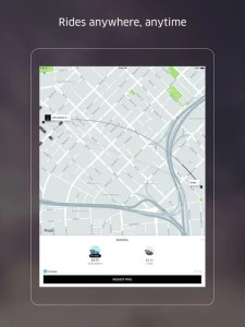 Download Uber for iPad
