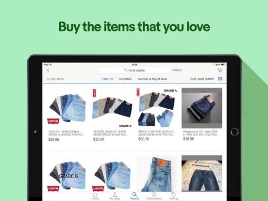 Download eBay for iPad