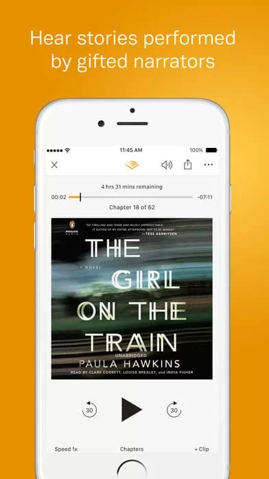 Download Audible for iPad