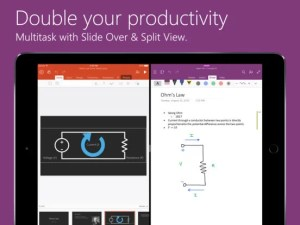 Download MS OneNote for iPad