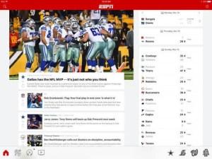 Download ESPN for iPad