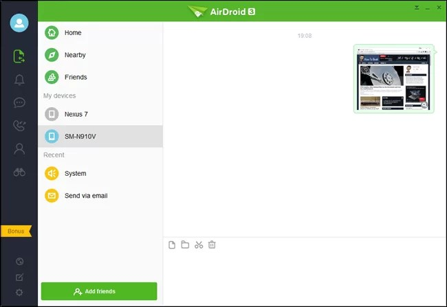 Download Airdroid for iPad