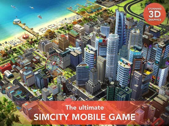 Download SimCity for iPad