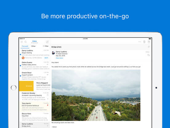 Download Outlook for iPad