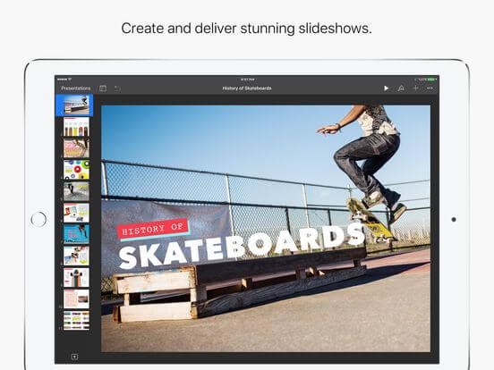 Download Keynote for iPad