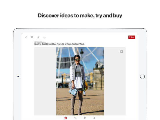 Download Pinterest for iPad