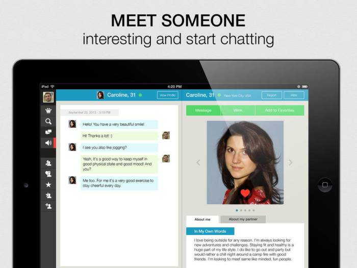 Download Tinder App for iPad