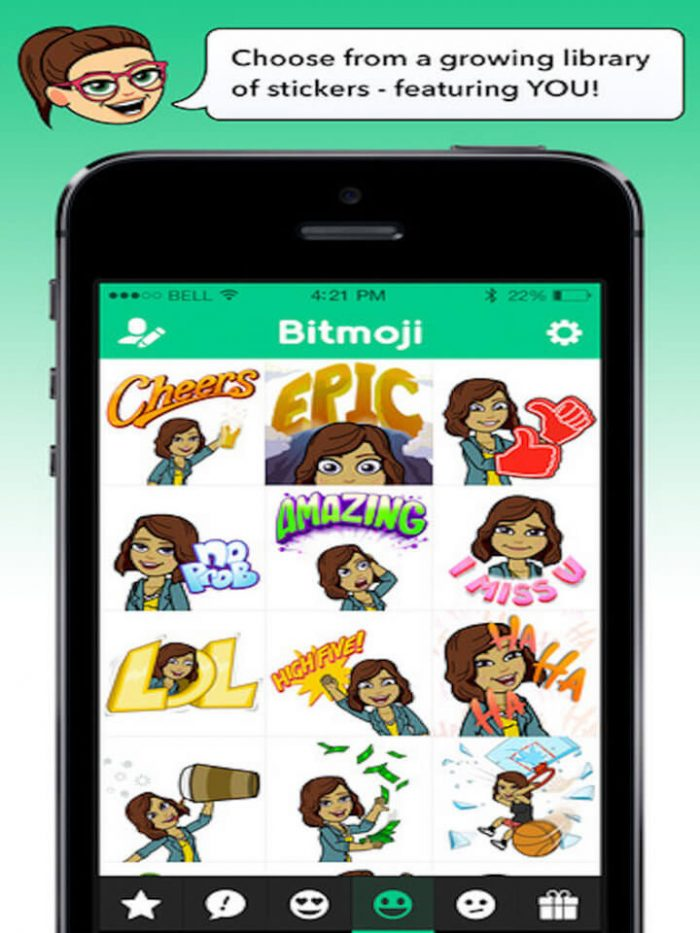 Download Bitmoji for iPad