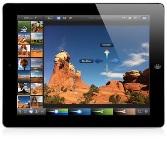 Download iPhoto for iPad