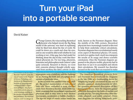 Download Scanner Pro for iPad