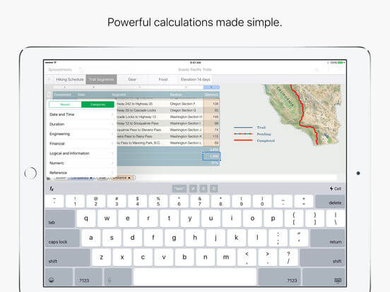 Download Numbers for iPad