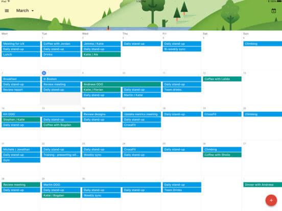 DownloadGoogle Calendar for iPad