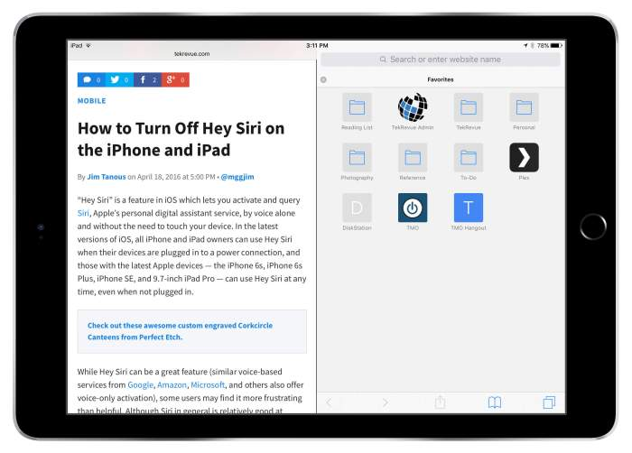 Download Safari for iPad