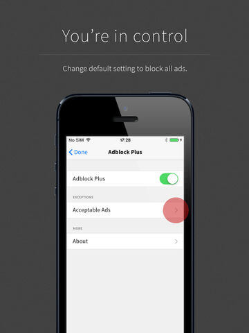 Download Adblock Plus for iPad