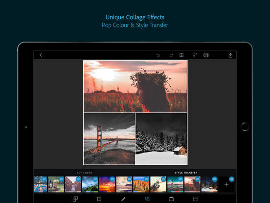 Download Adobe Photoshop Express for iPad