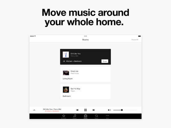 Download Sonos App for iPad