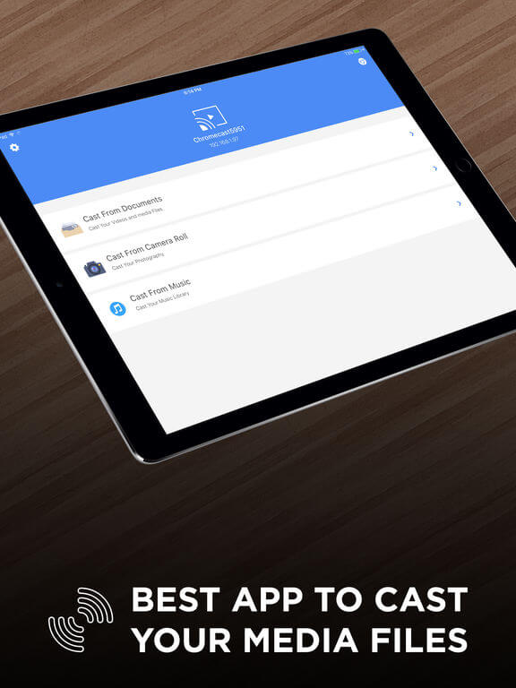 Download Chromecast for iPad