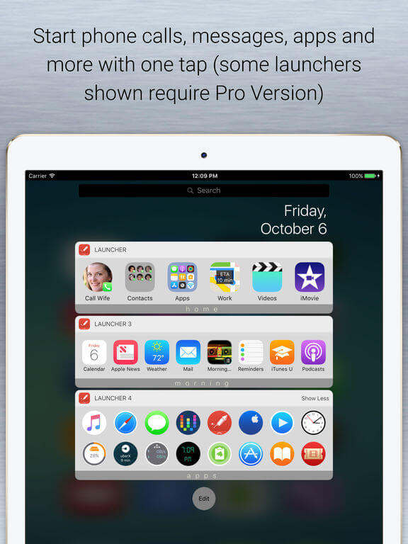 Download Launchers for iPad