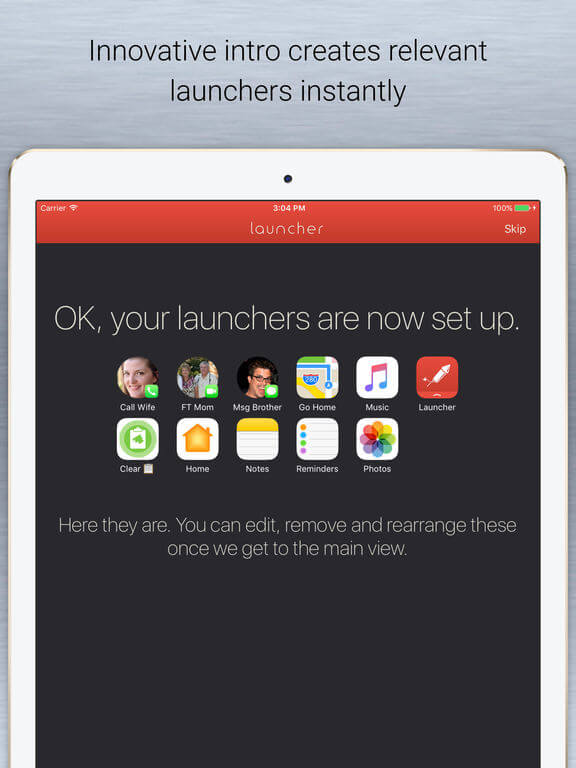 Download Launcher for iPad