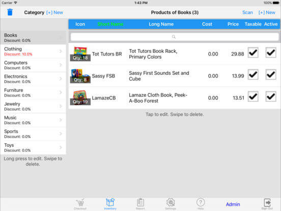 Download Cash Register for iPad