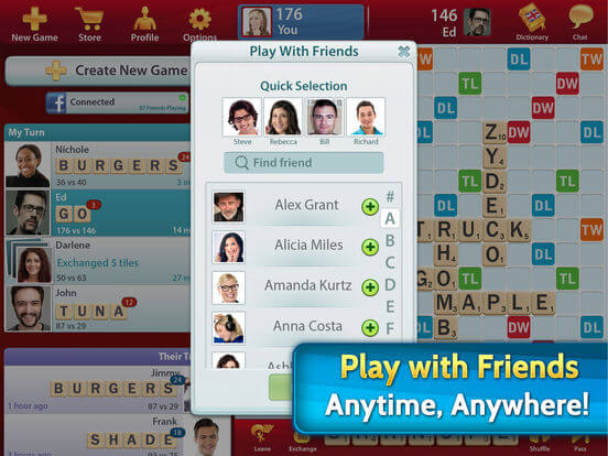 Download Scrabble for iPad
