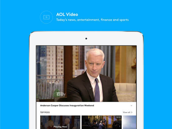 Download AOL App for iPad