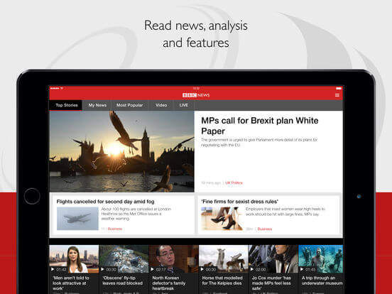 Download BBC News App for iPad