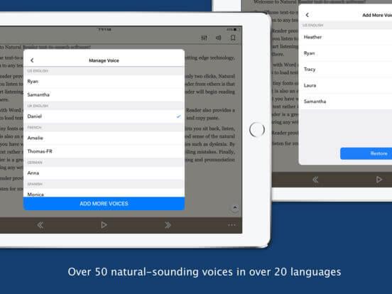 Download Speech App for iPad