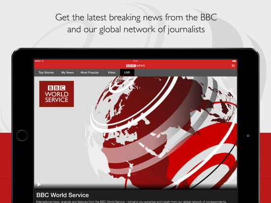 Download BBC News App for iPad