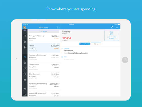 Download Accounting App for iPad