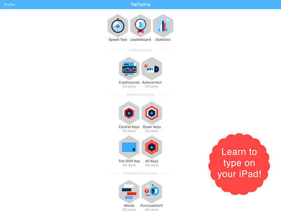 Download Typing App for iPad