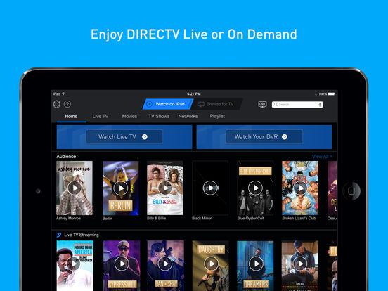 Directv App for iPad Free Download