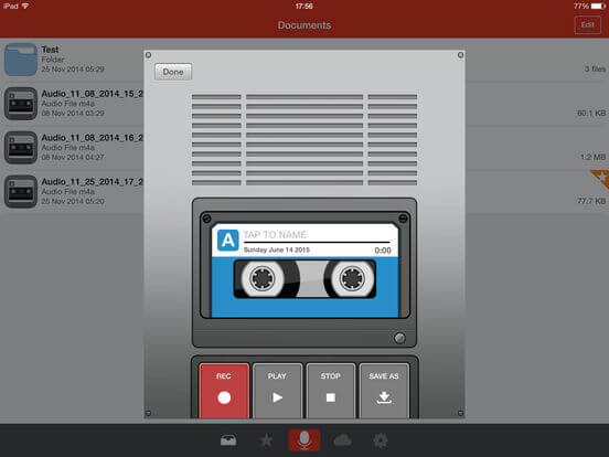Download Recording App for iPad