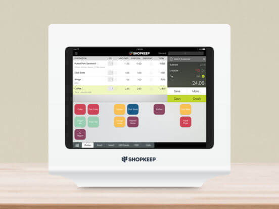Download Point Of Sale App for iPad