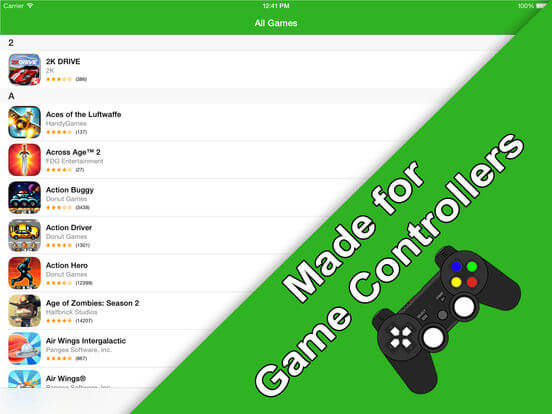 Download Game Controller App for iPad