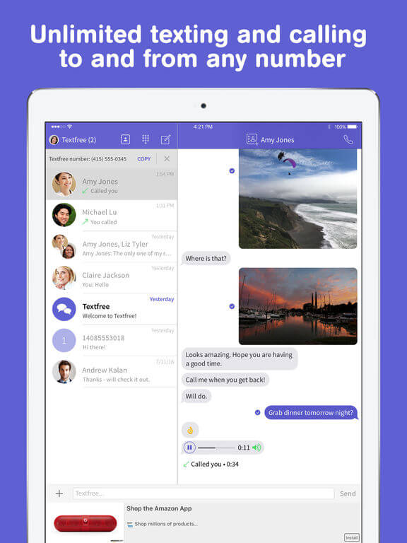 Download Texting App for iPad