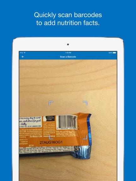 Download MyFitnesspal App for iPad