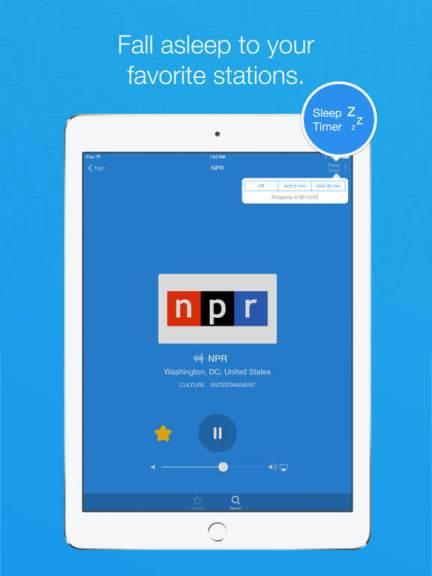 Download Radio App for iPad
