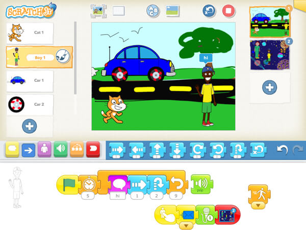 Download Scratch App for iPad