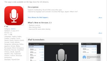 Voice Recorder for iPad Free Download   iPad Utilities