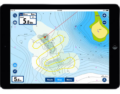 Download Navionics for iPad
