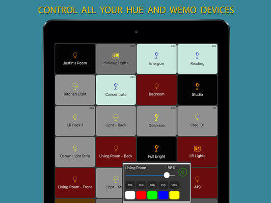 Download Wemo App for iPad