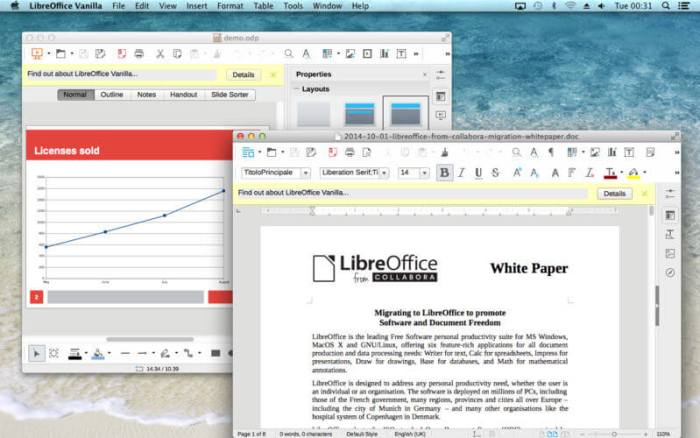Download LibreOffice for Mac