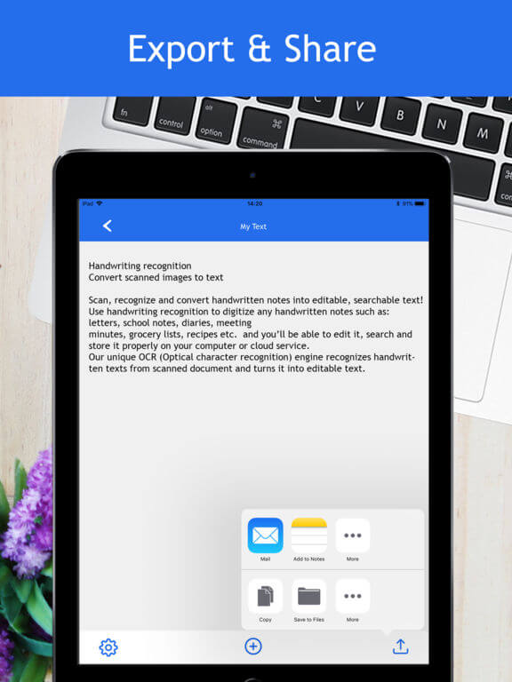 Download Handwriting Recognition App for iPad