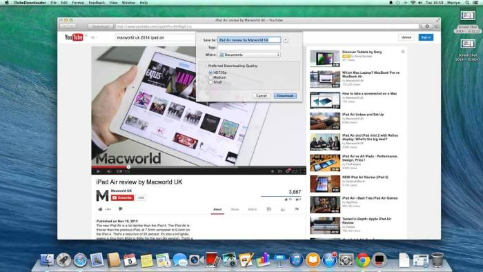 Download Youtube for Mac