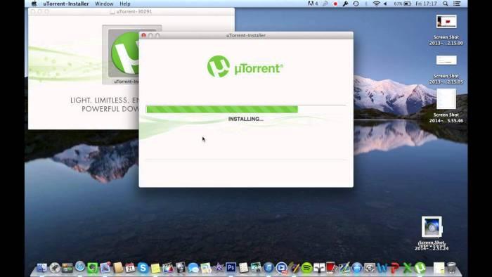 Download uTorrent for Mac