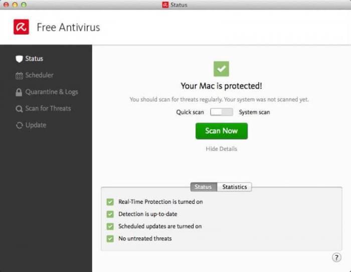 Download Avira for Mac